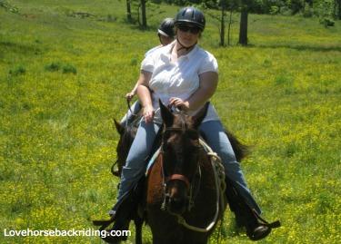 horse back riding tours